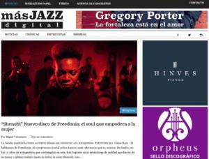 La nueva web de Más Jazz abre sus puertas
