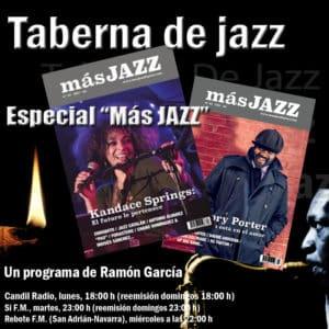 """""""Taberna de Jazz"""" entrevista a Miguel Valenciano, director de """"Más Jazz"""""""