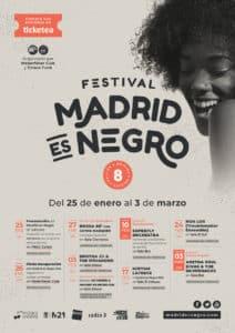Llega la 8ª edición del Festival Madrid es Negro