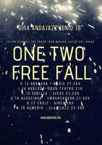 """Próxima gira del cuarteto """"One Two Free Fall"""" en el circuito andaluz Andajazz"""
