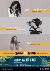 IV Festival Ingenia Jazz & Wine durante el mes de Julio