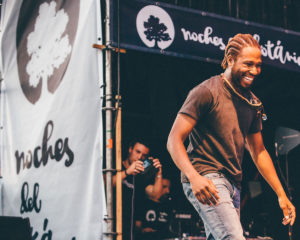 Cory Henry y Trombone Shorty (Real Jardín Botánico Alfonso XIII, 18/07/2018)