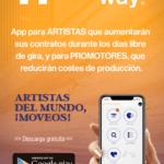 PUBLIRREPORTAJE – ArtistsOntheWay (AOW) presenta su nueva aplicación para artistas, promotores y técnicos.