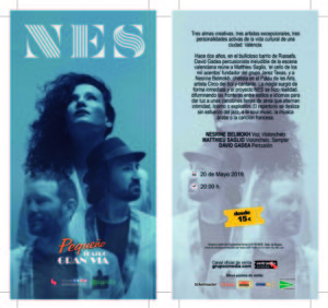 La música del trio NES recorrerá la Comunidad de Madrid durante el próximo mes.