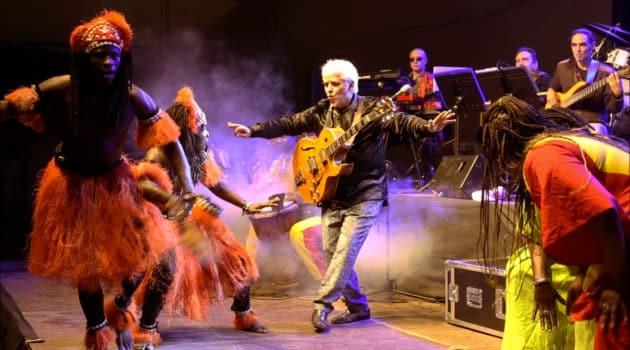 Ximo Tébar afro-jazz dance big band.