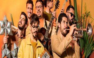 La banda instrumental brasileña Silibrina presenta en Europa su segundo disco 'Estandarte'.