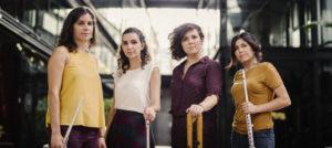 Quartetazzo presenta su nuevo disco en Café Berlín.