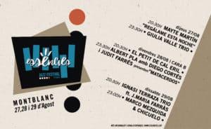 Cartel Montblanc 27,28,29 agosto 2020