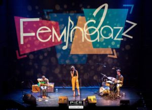 Eva Fernández Trio ©Ernesto Cortijo - Feminajazz 2019