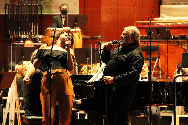 Aurora García y Pedro Ruy Blas